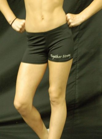 TS bootie shorts