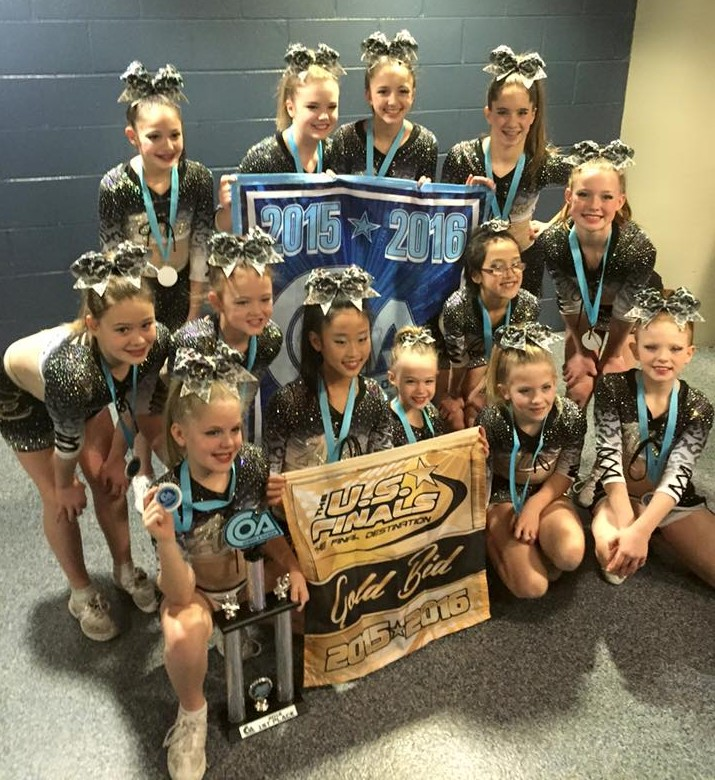 1st PLACE AND GOLD BID TO US FINALS!